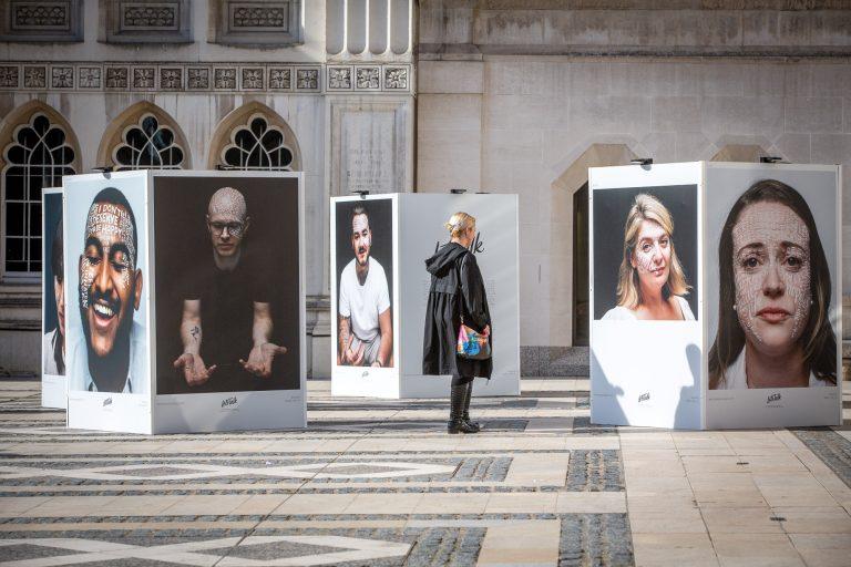 'Let's Talk' Outdoor Exhibition